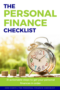 The Personal Finance Checklist - MacGuyver