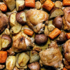 Lunch Box Recipe_ Baked Orange Chicken and Potatoes - Foodica