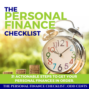 Odd Cents - The Personal Finance Checklist - 300 x 300