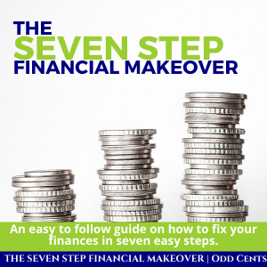 Odd Cents - The Seven Step Financial Makeover - 300 x 300